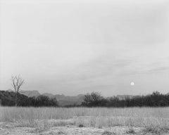 Moonrise from Santa Elena Road
