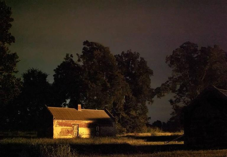 <i>Decision to Leave. Magnolia Plantation on the Cane River, Louisiana</i>, 2013, by Jeanine Michna-Bales