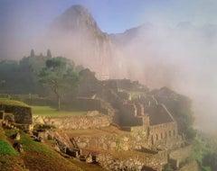 Machu Picchu in Dawn Mist, Cordillera de Vilcabamba, Sacred Valley, Peru