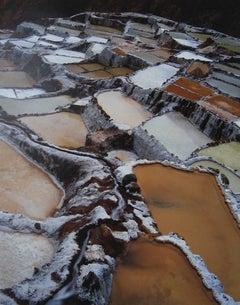 Salt Pan Terraces, Salineras de Maras, Peru