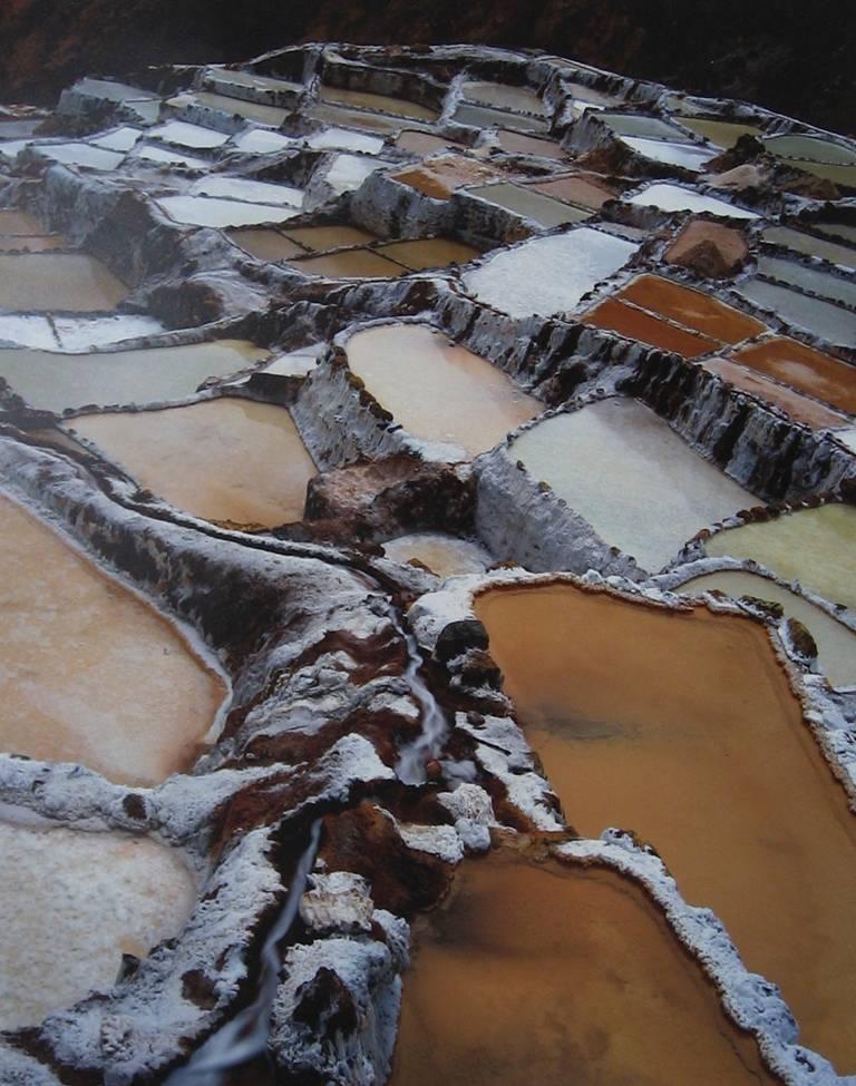 Salt Pan Terraces, Salineras de Maras, Peru