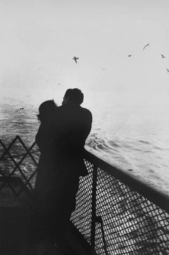 Lovers on Ferry, New York City