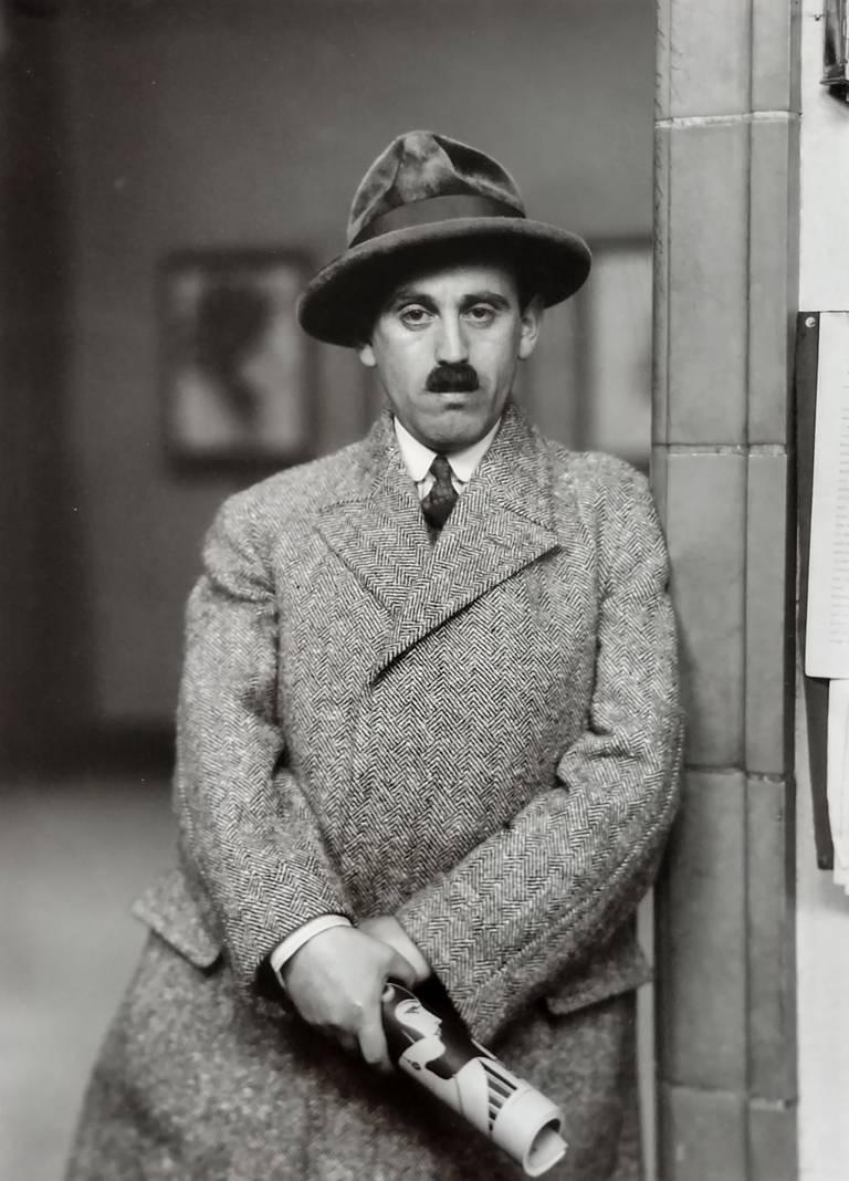 August Sander Portrait Photograph - Art Dealer (Citizens of the 20th Century)