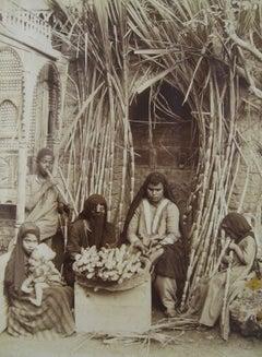 Vendeuses de cannes à sucre au Cairo