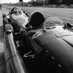 Lancia/Ferrari D50 Pits Monza 1956