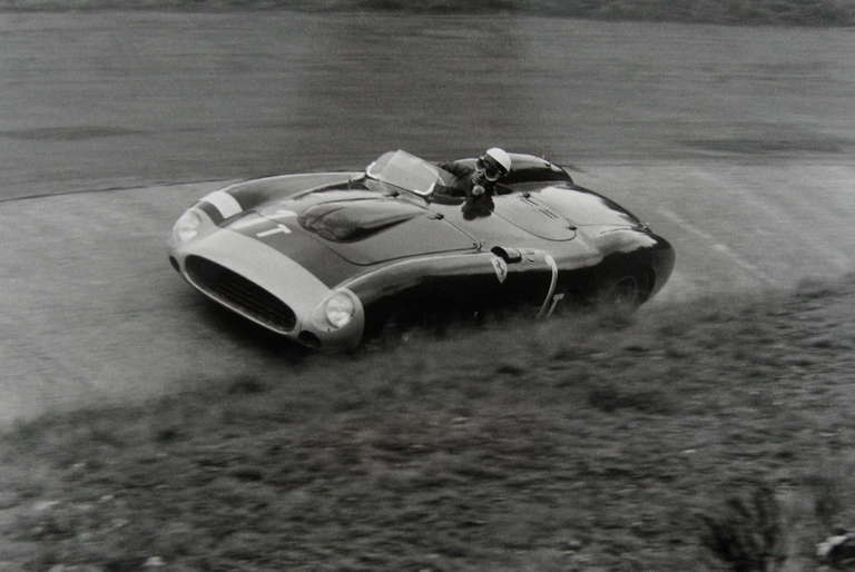 Jesse Alexander - Eugenio Castellotti, Ferrari, 86 Monza, Nurburgring, Germany 1