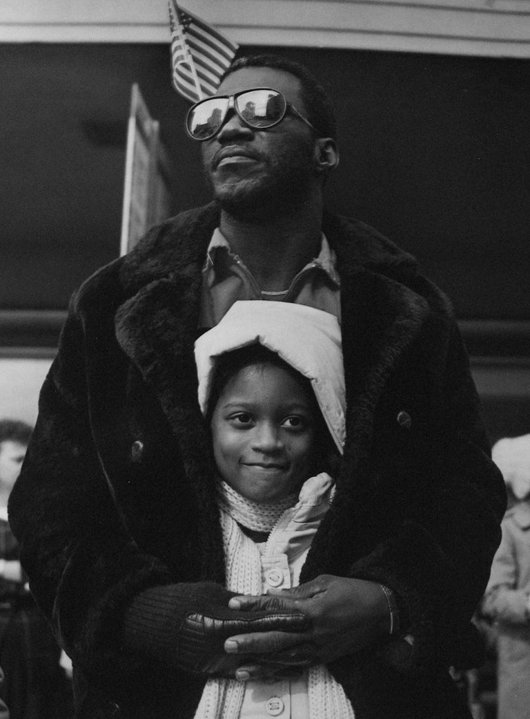Earlie Hudnall Jr. Black and White Photograph - The Guardian