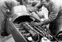 Maserati 250F, Maserati Mechanics, Monza, Italy