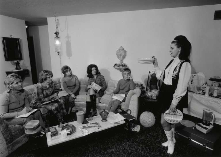 Bill Owens - I Enjoy Giving a Tupperware Party in my House, from Suburbia 1