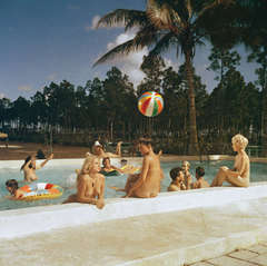 Nudist Swimming Pool, Homestead, FL