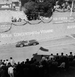 Luigi Musso, Ferrari 250T, Targa Florio, Sicily