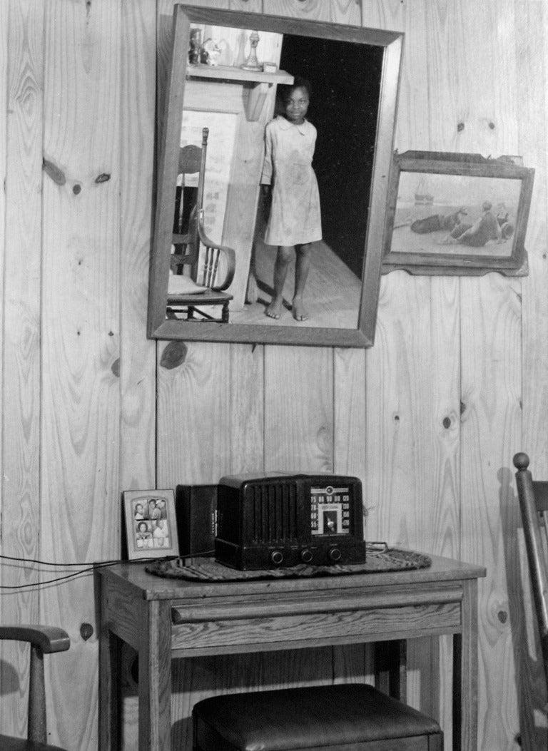 Interior of a Sharecropper's Home, Greene County, Georgia