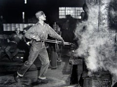 In an Iron Foundry, Washington, Pennsylvania, 1941