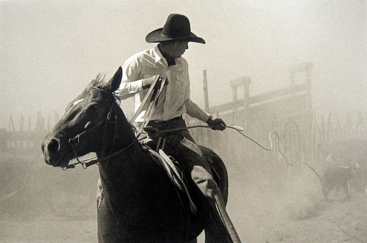 Bank Langmore Untitled Roper At Bell Ranch Photograph