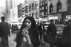 New York (from Women are Beautiful Portfolio) (Woman/Pretzel)