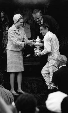 Princess Grance, Prince Rainer and Jackie Stewart, Monaco