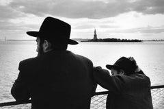 Man & Son on Staten Island Ferry