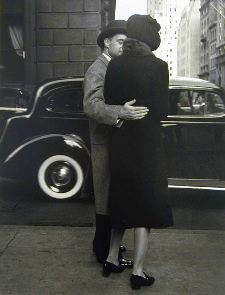 Morris Engel Black and White Photograph - Park Ave.