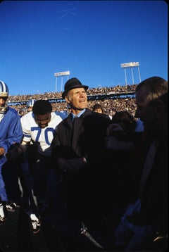 Tom Landry with Blue Sky, Super Bowl VI, Dallas Cowboys vs. Miami Dolphins