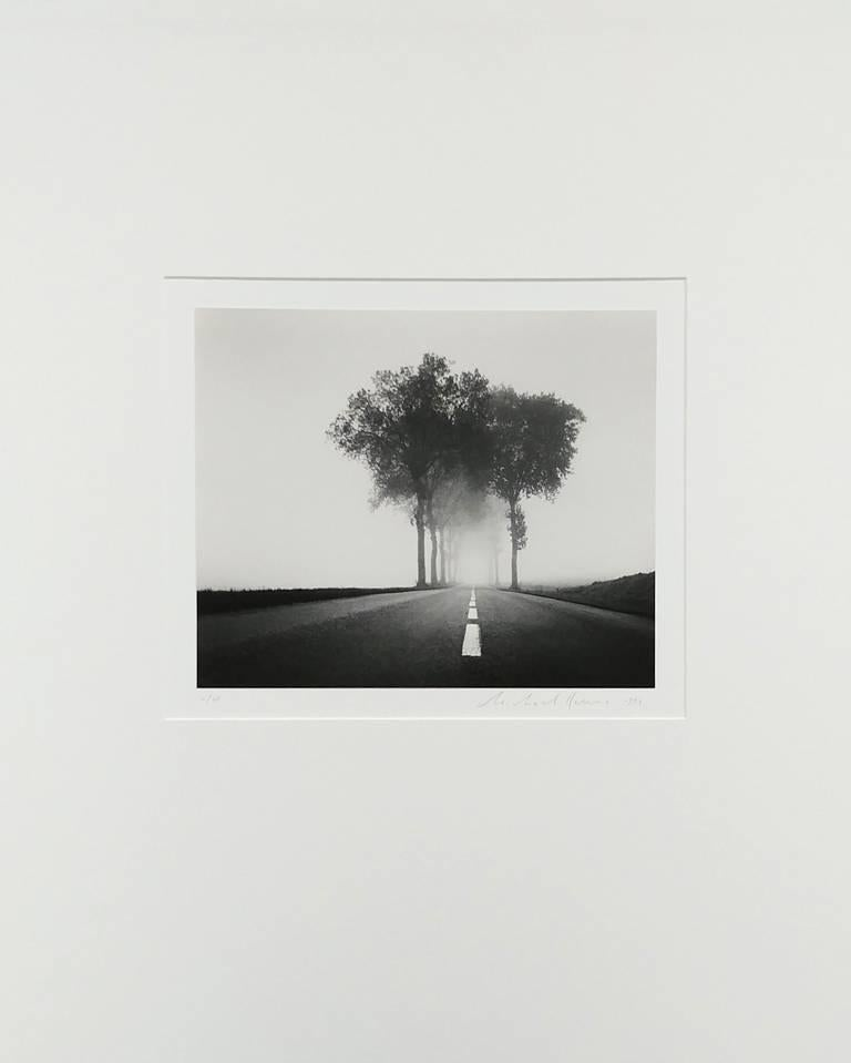 Homage to Henri Cartier-Bresson, Study 2, Bretagne, France - Photograph by Michael Kenna