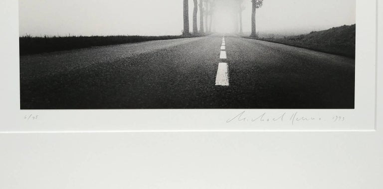 Homage to Henri Cartier-Bresson, Study 2, Bretagne, France - Contemporary Photograph by Michael Kenna