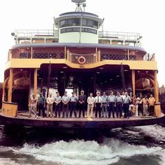 Staten Island Ferry, Narrows Bay, NY