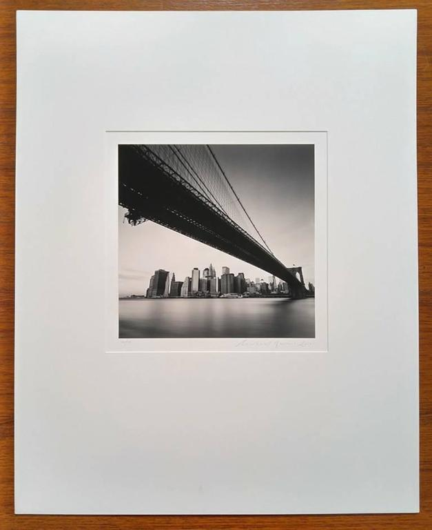 Brooklyn Bridge, Study 1, New York, USA - Photograph by Michael Kenna