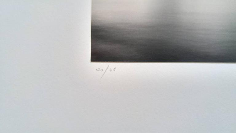 Edition 30/45 Signed, dated and numbered in pencil on mount margin recto. Signed, titled, negative date, print date and numbered in pencil with the  artist's stamp in black ink on mount verso. Sepia toned gelatin silver print  Michael Kenna's black