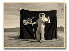 The Truth about the Moon Landing, Book and Photographs