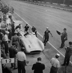 Juan Manuel Fangio, Mercedes W196, Grand Prix of Italy, Monza