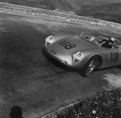 Herbert Linge Porsche RSK, Targa Florio, Sicily, Italy