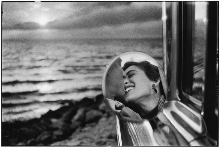 Elliott Erwitt Portrait Photograph - Santa Monica, California