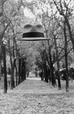 Untitled - (Floating hat in tree path)