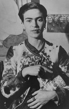 Frida with the Cinzano Bottle New York City, NY