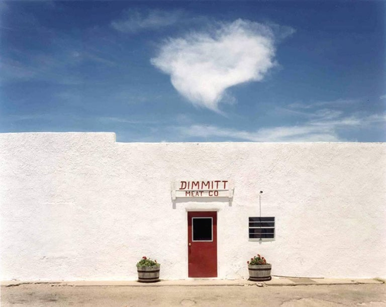 Peter Brown Landscape Photograph - Dimmitt Meat Company, Dimmitt, Texas from On The Plains series