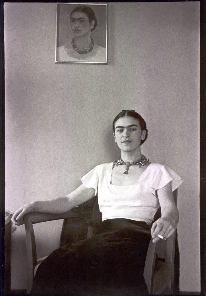 Frida at the Barbizon Plaza Hotel, New York City, NY
