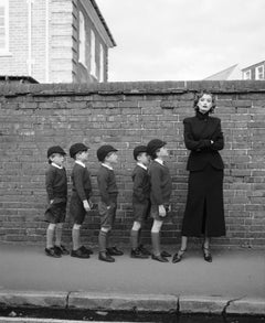 Untitled (Model with Schoolboys)