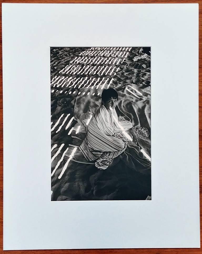 Harold Feinstein - Boy Under the Boardwalk, Coney Island, Photograph ...