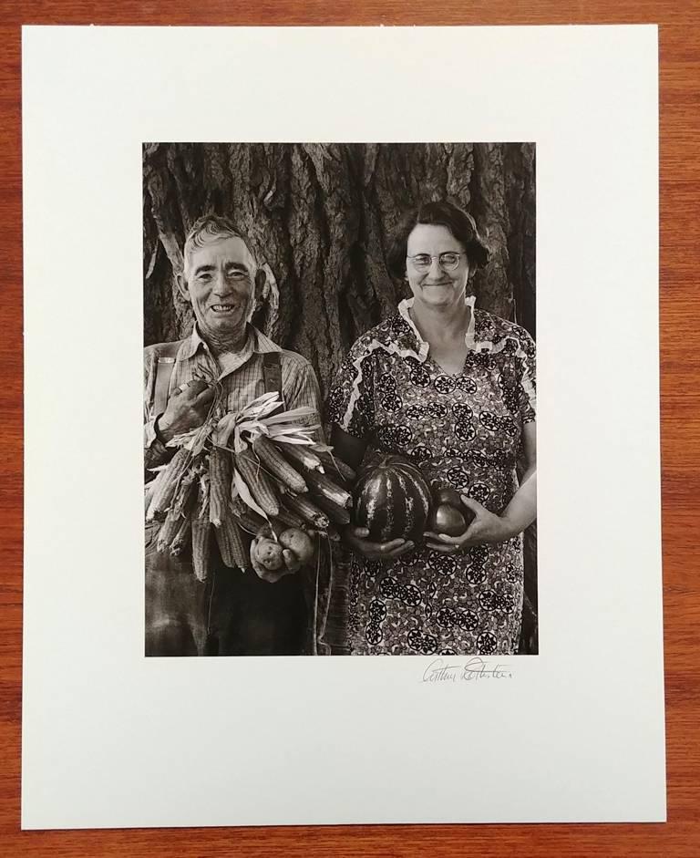 Mr. and Mrs. Andy Bahain, FSA Borrowers on Their Farm Near Kerry, Colorado - Photograph by Arthur Rothstein