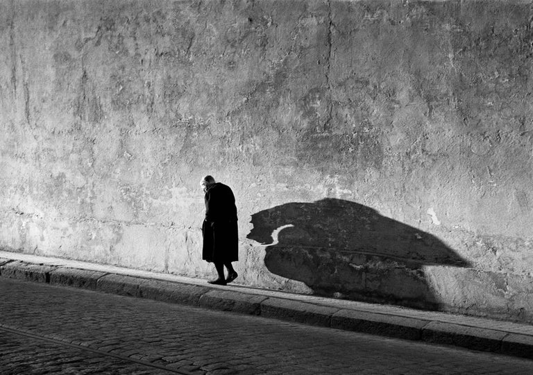 George Krause Black and White Photograph - Shadow, Spain