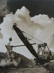 Untitled - crane w/bull dozer