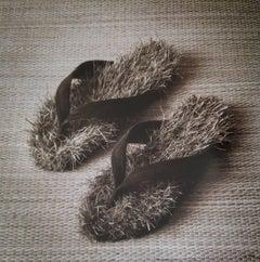 Untitled, Madrid (Sandals w/ Grass)