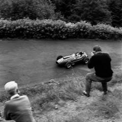 Phil Hill, Ferrari. 1561F2, Nurburgring, Germany