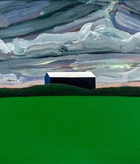 Blue Barn, Green Field