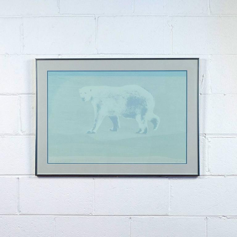 Charles Pachter Animal Print - Bear in Mind the Light
