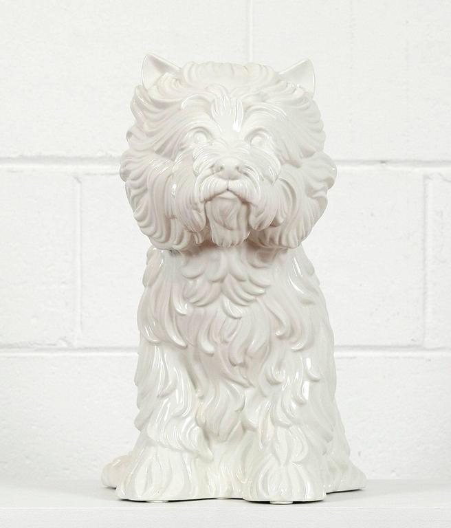 Jeff Koons Puppy Porcelain Sculpture At 1stdibs
