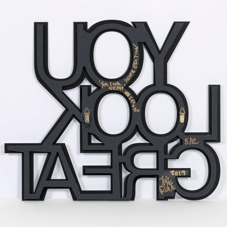 You Look Great - Sculpture by Jade Rude