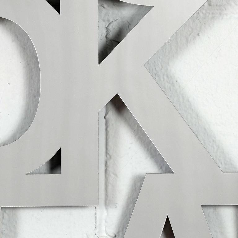 One of our most successful multiples is back, bigger and in silver!   Caviar20 discovered, and then fell-in-love with, Jade Rude thanks to her iconic and hugely successful wall sculpture