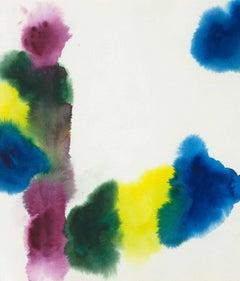 """Gershon Iskowitz """"Passage"""", 1977 Watercolor"""
