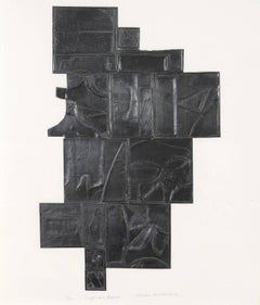 """Louise Nevelson """"Tropical Leaves"""" 1972"""